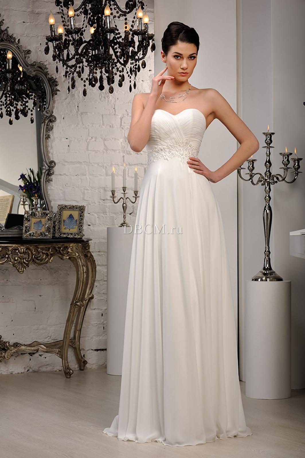 Фото свадебных узких платьев