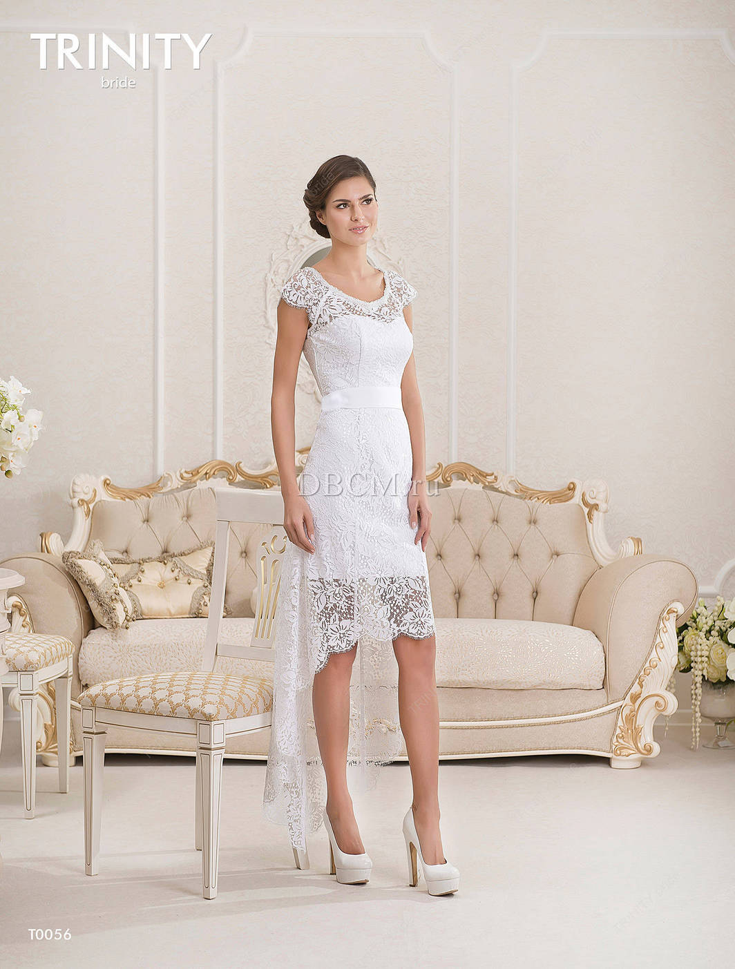 Свадебные Платья Короткие Недорого В Мосвке