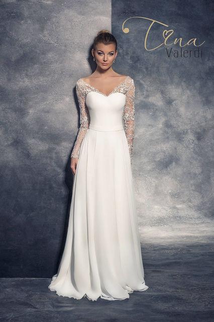 53c70dd8a0b8 Tina Valerdi Alba wedding dress. Inspiration by Tina collection