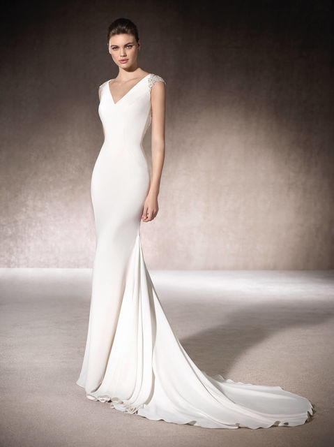 vestidos de novia de st. patrick. colección wedding dresses 2017