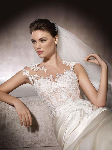vestido de novia de st. patrick mercy. colección wedding dresses 2017
