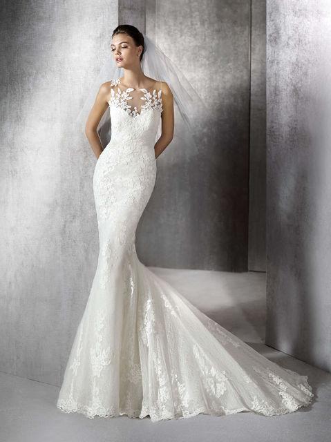 vestido de novia de st. patrick zulaica. colección wedding dresses 2017