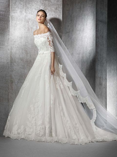 vestido de novia de st. patrick zureda. colección wedding dresses 2017