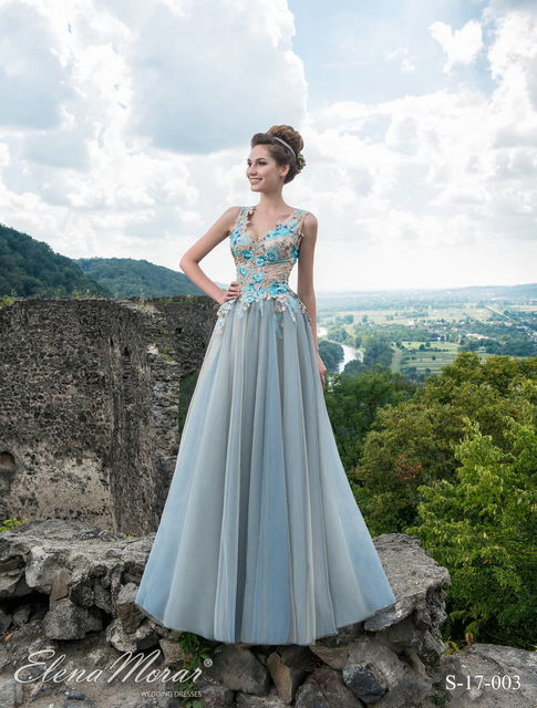 Elena Morar S-17-003 wedding dress. History of love 2017 collection