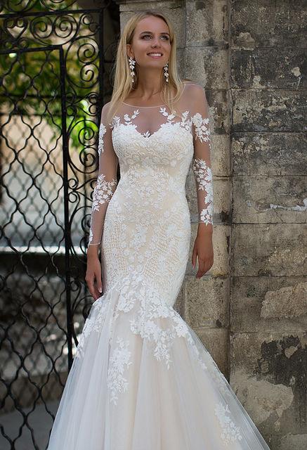 Свадебные платья оксана муха купить в москве