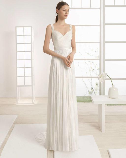 vestidos de novia de rosa clara. colección rosa clara soft 2017