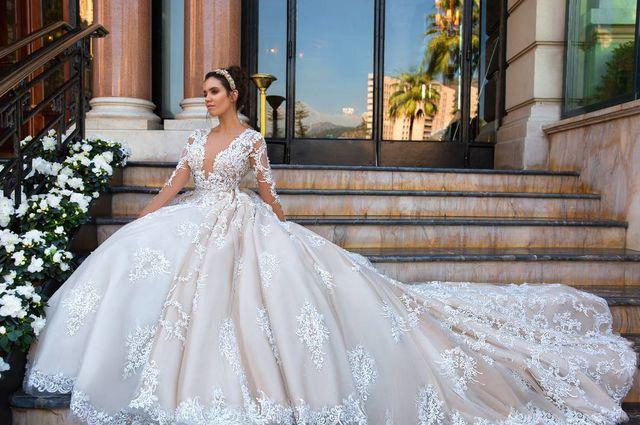 Дорогие свадебные платья купить в москве