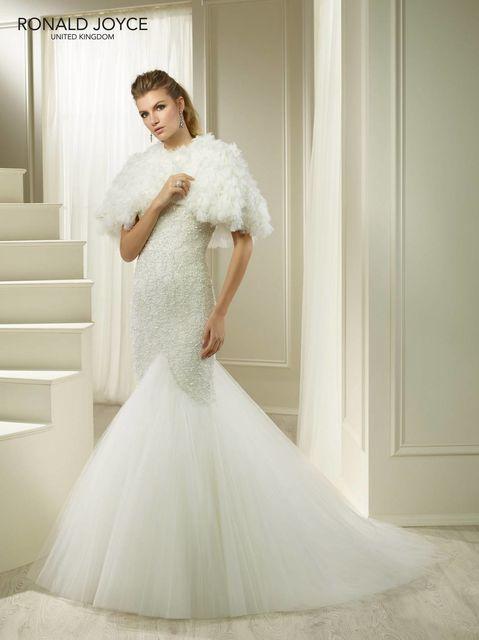 a44e0d80f5 Ronald Joyce - Model  69277 Shrug Wedding Dress photo