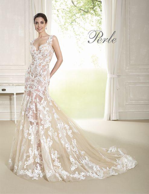 da59756c1b3d Delsa P7834 wedding dress. Perle 2018 collection