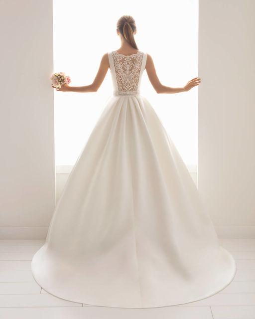 vestido de novia de aire barcelona 2c199 bliss. colección aire 2018