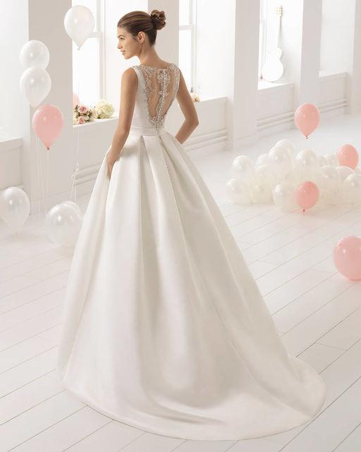 vestido de novia de aire barcelona 2c1a9 bolivia. colección aire 2018
