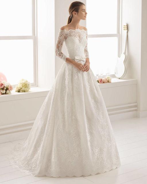 vestidos de novia de aire barcelona. colección aire 2018 collection