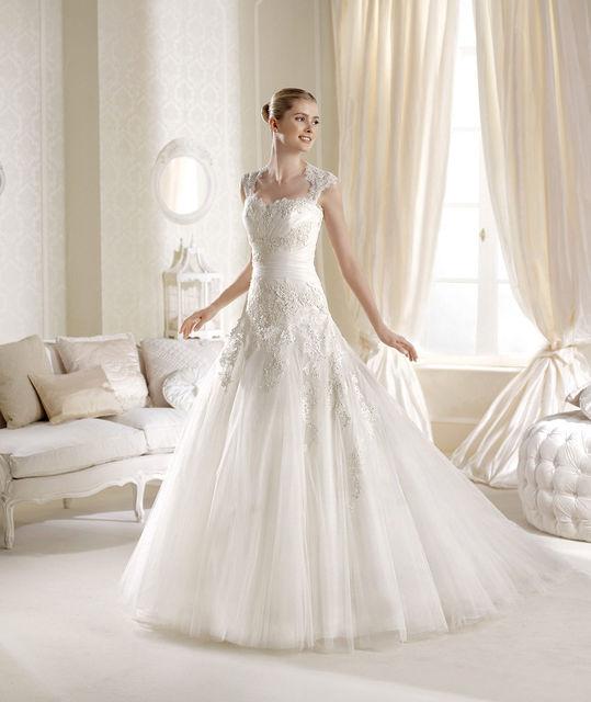 vestido de novia de la sposa ilana. colección glamour 2014