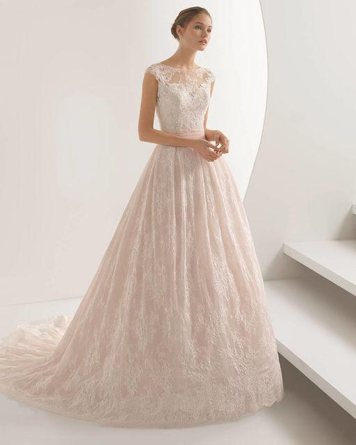 1a698f6cbe2f5 Vestidos de novia de Rosa Clara. Colección Rosa Clara 2018 ...