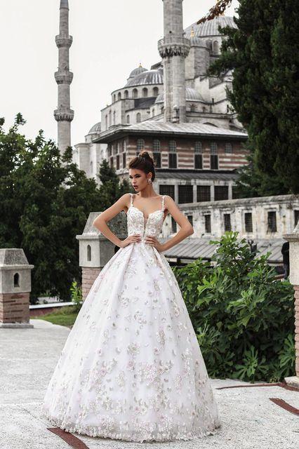 vestido de novia de pollardi 3135-elif. colección istanbul
