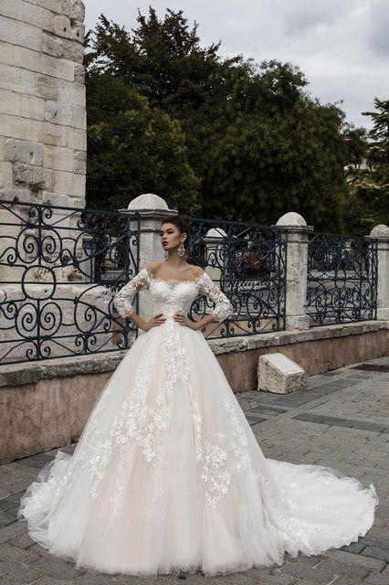 vestido de novia de pollardi 3142-irem. colección istanbul