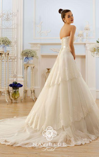 Naviblue - Свадебное платье из коллекции Romance. Модель: 13107
