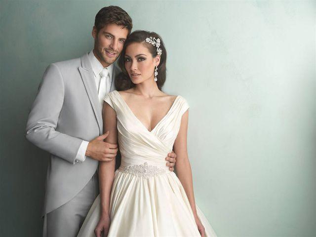 Свадебное платье и бижутерия