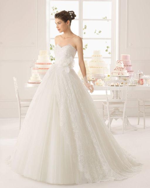 vestido de novia de aire barcelona 8c1f7 azurita. colección aire 2015