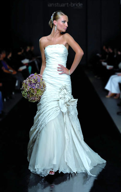 Ian Stuart wedding dresses. Catwalk collection