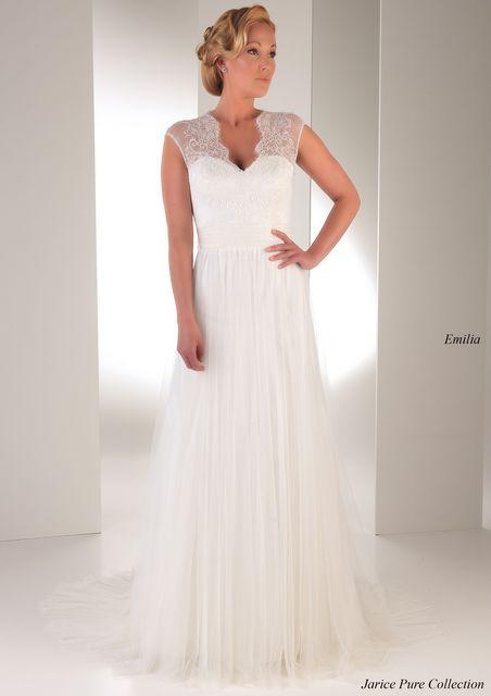 vestido de novia de jarice emilia. colección pure