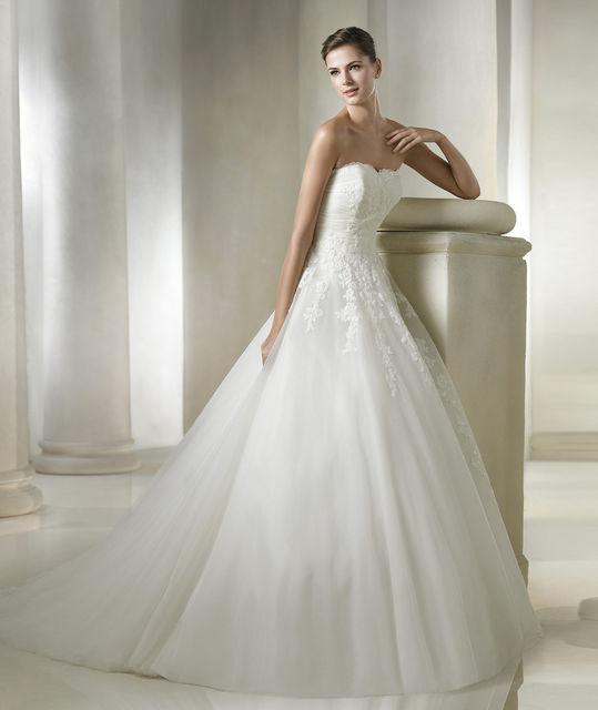 vestidos de novia de st. patrick. colección glamour 2015 collection