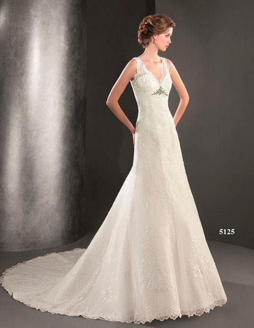vestido de novia de lugo novias 5125. colección dreams 2015