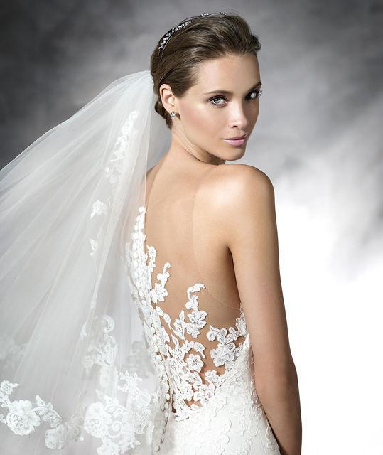 vestido de novia de pronovias placia. colección pronovias 2016