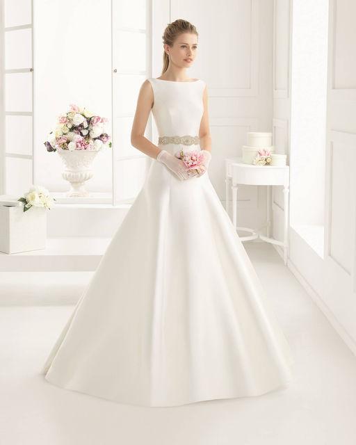 vestidos de novia de rosa clara. colección tworosa clara 2016