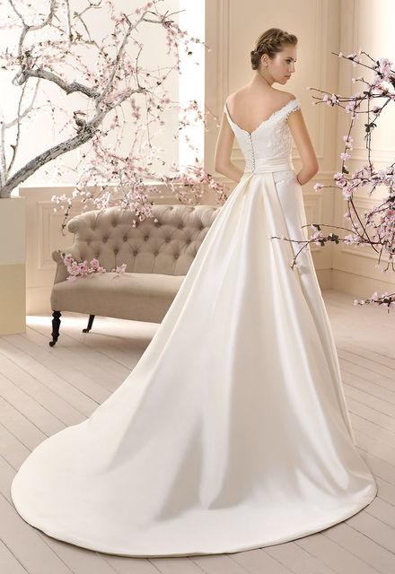 vestido de novia de cabotine martinet. colección 2016