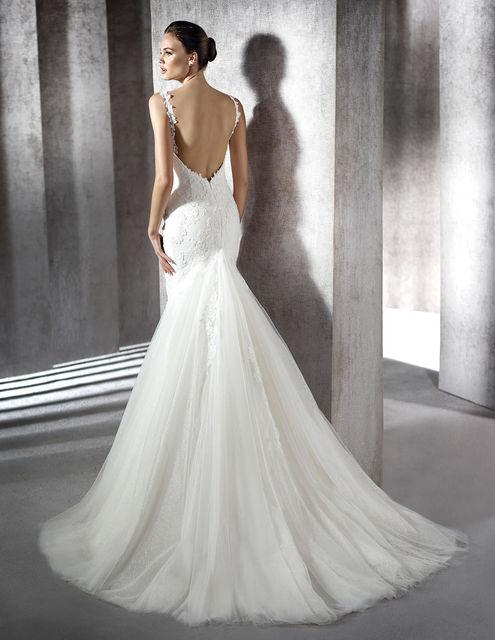 vestido de novia de st. patrick zamira. colección wedding dresses 2016