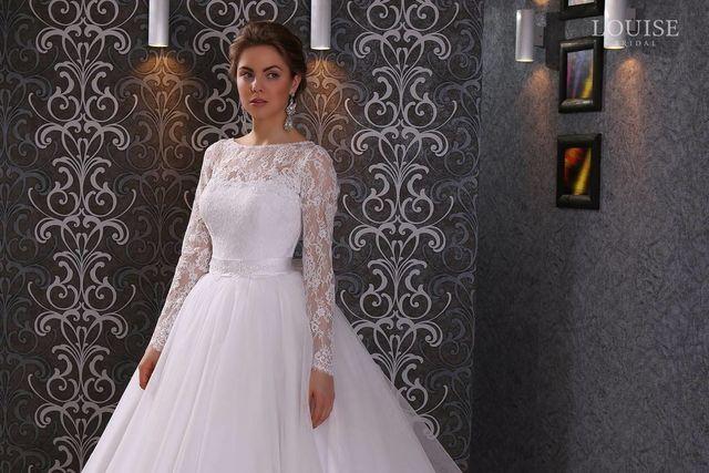 Красивые Свадебные Платья С Закрытыми Плечами