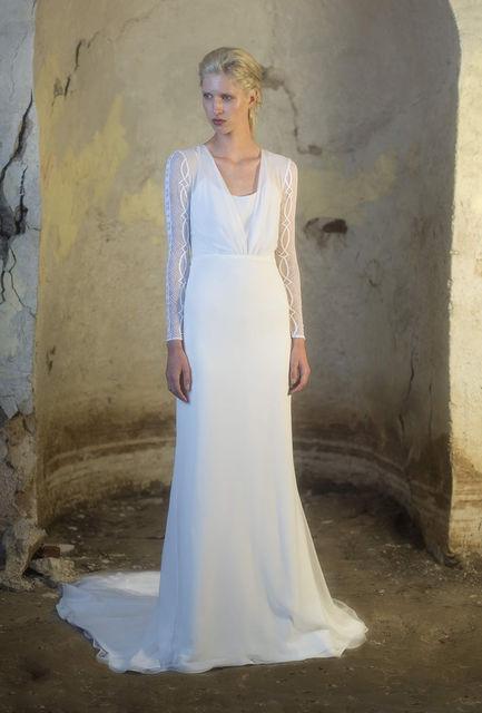 vestidos de novia de colour nude. colección 2016 collection