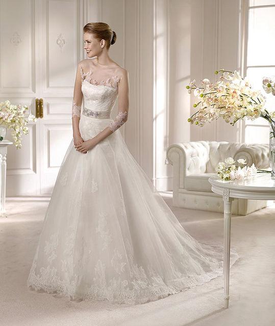 vestido de novia de st. patrick amada. colección costura 2013