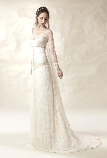 vestido de novia de whitedayjose m peiro barcelona. colección