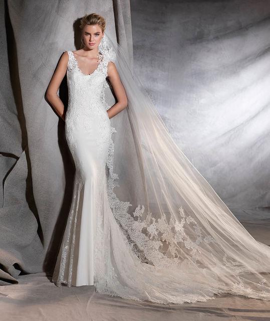 vestido de novia de pronovias oriana. colección pronovias 2017