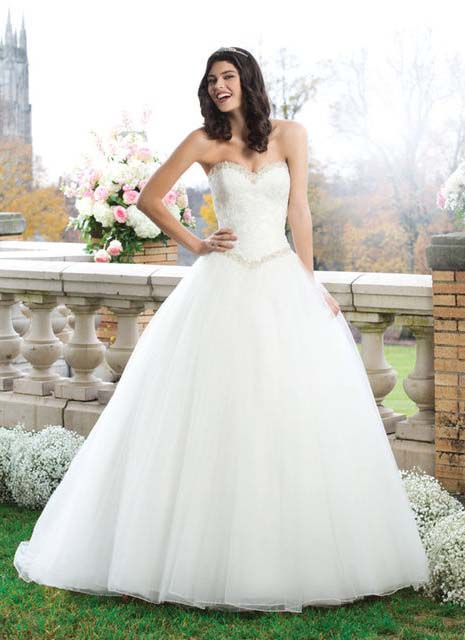 фото бального свадебного платья