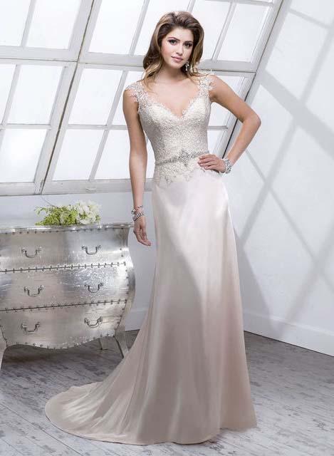 фото прямого свадебного платья фасона колонна