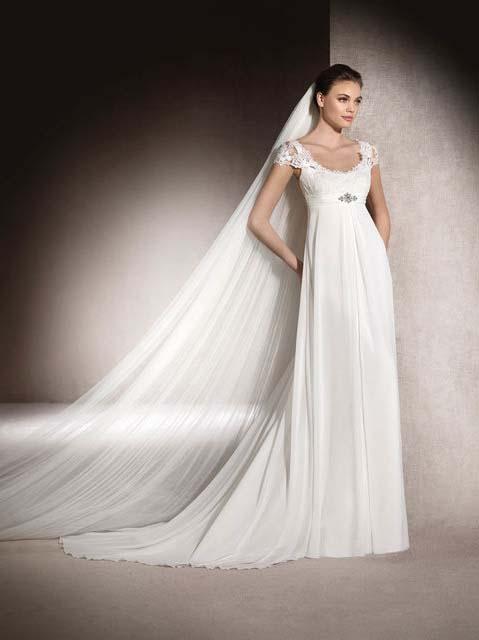 фото свадебного платья в греческом стиле